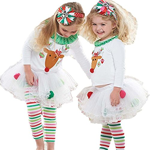 haoricu Girls Dresses, Baby Girl Deer T Shirt