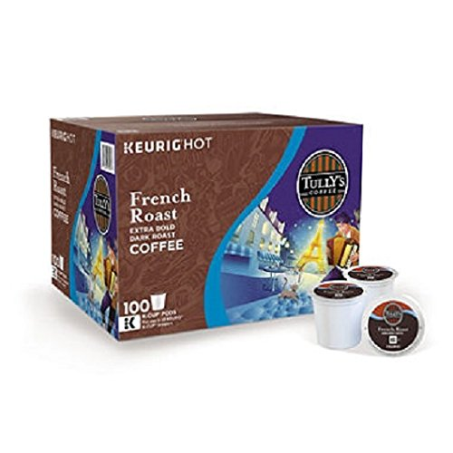 Tully's French Roast K-Cup Pods (0.4 oz. ea., 100 ct.)