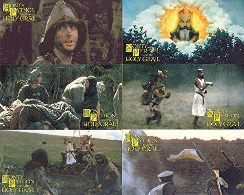(MONTY PYTHON AND THE HOLY GRAIL MOVIE WIDEVISION 1996 CORNERSTONE COMPLETE BASE CARD SET OF 72)