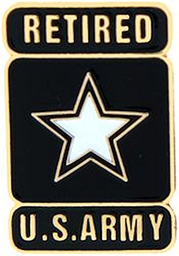 Army Small Hat Pin - U.S. Army Star Hat Pin - RETIRED