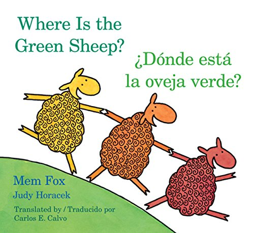 Donde esta la oveja verde?/Where Is the Green Sheep? (English and Spanish Edition) from Houghton Mifflin Harcourt