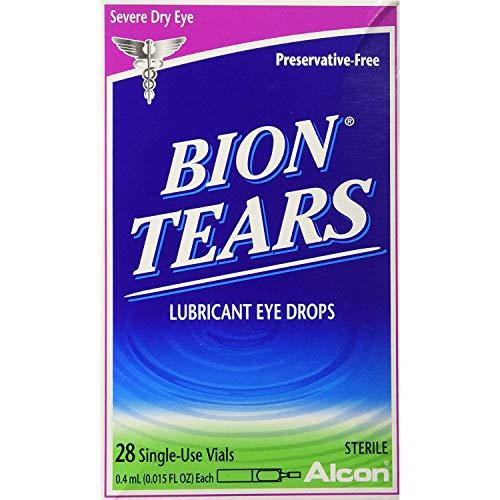 Bion Tears Lubricant Eye Drops Single Use Vials - 28 ct, Pack of 6