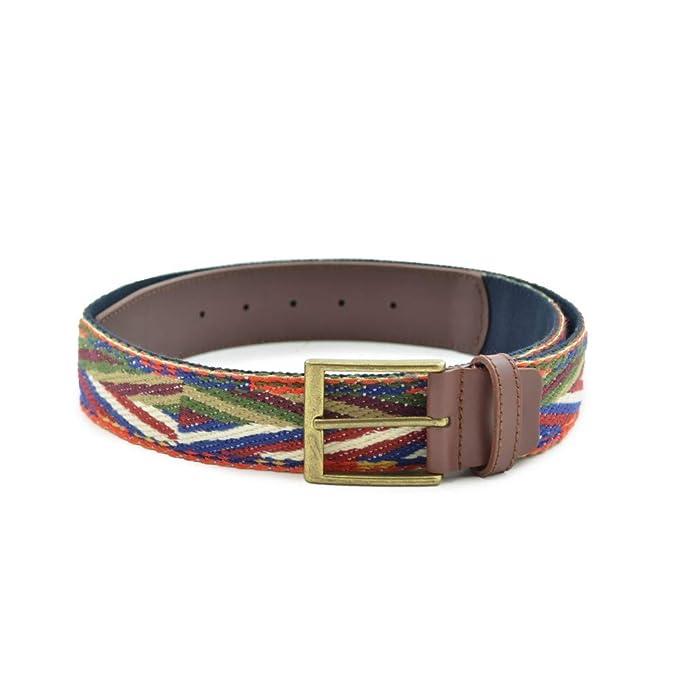 más baratas a1d97 446e9 Benavente Cinturón étnico multicolor: Amazon.es: Ropa y ...