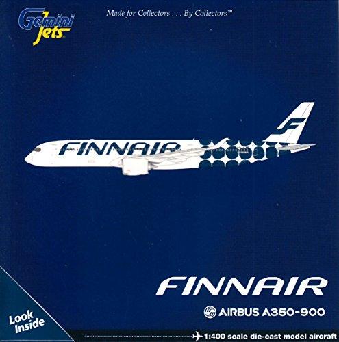- GeminiJets Finnair A350-900 OH-LWL Marimekko Livery 1:400 Scale Model Airplane Die Cast Aircraft