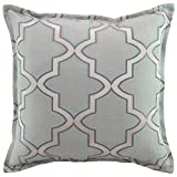 Austin Horn En' Vogue Glamour Pillow, 20'' x 20'', Spa Blue