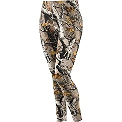 Legendary Whitetails Ladies Big Game Camo Leggings Big Game Field Camo Small