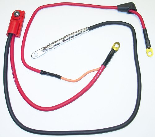 (ACDelco 4SD41XT Professional Positive Side Terminal Battery Cable with Multiple Auxiliary Leads)
