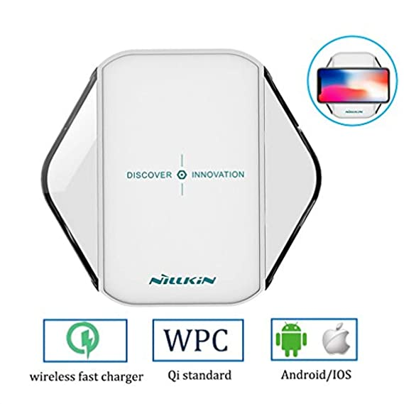 Nexus 7//6//5//4 All Qi-Enabled Devices Yilaku YJ-C12 Fast Wireless Charger Charging Pad for Samsung Galaxy S6,S6 Edge Plus,S7,S7 Edge,S8,S8 Plus,Note 8,Note 5 iPhone 8//8 Plus,iPhone Xs
