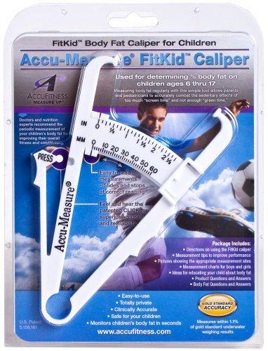 Accu-Measure FitKid Body Fat Caliper for Children by Accu-Measure