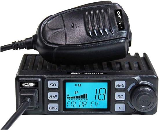 Radio CB CRT Xenon con ASQ, 4W, 12V, escaneo, Ganancia de RF ...