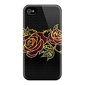 Saraumes Snap On Hard Abstract Rose Protector Case For Sumsung Galaxy S4 I9500 Cover