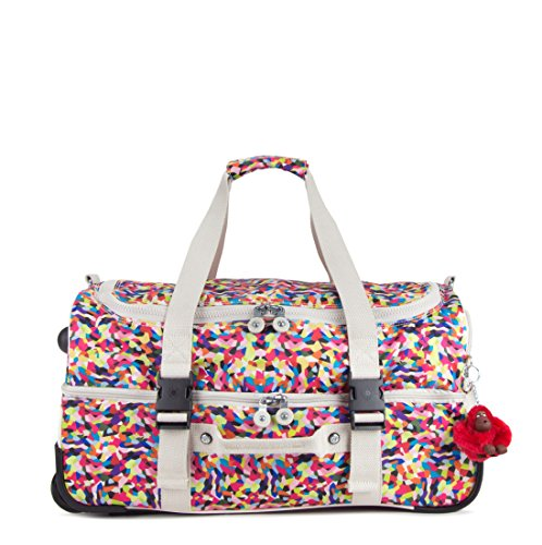 Kipling Teagan Trolley Travel Bag, Multi Spaltter