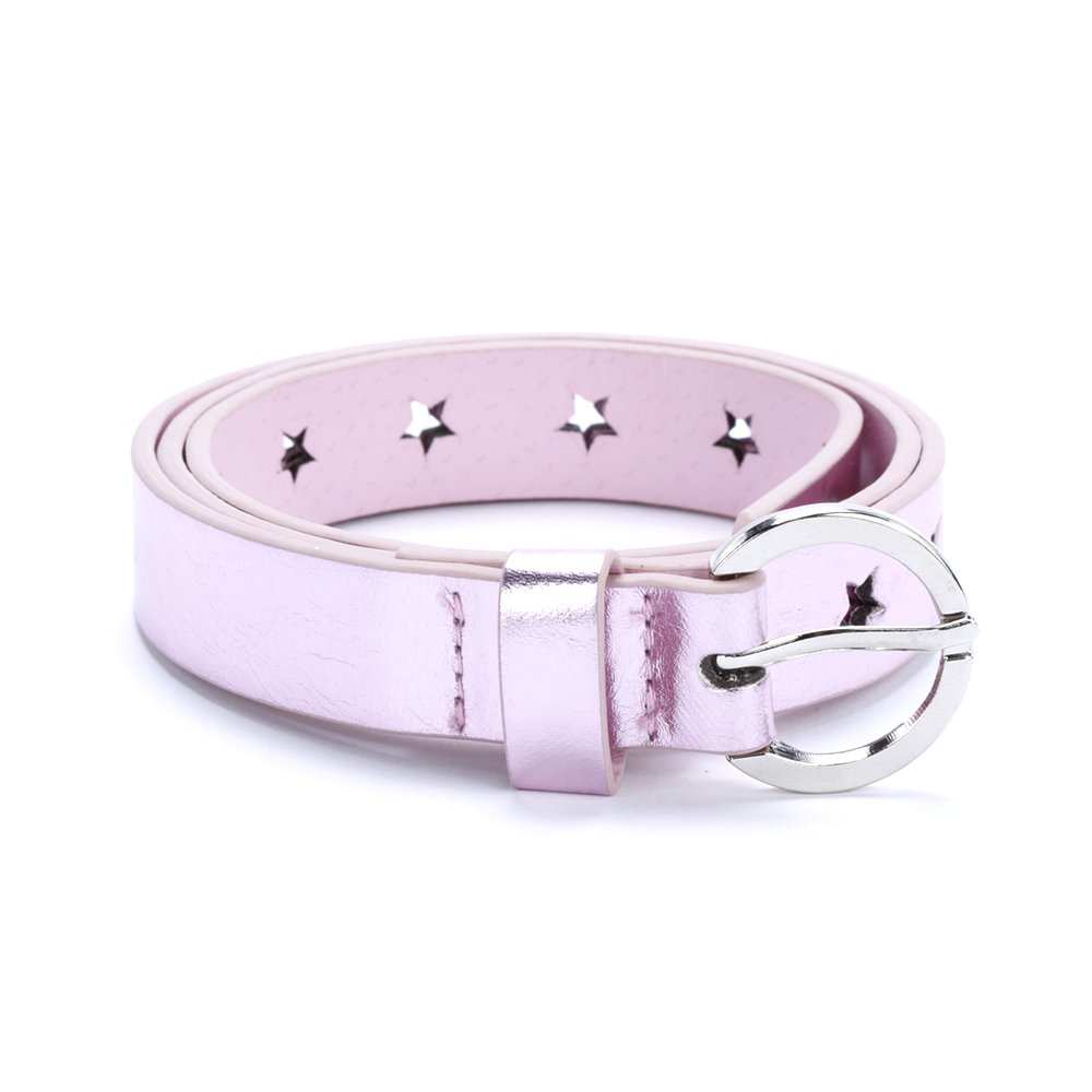 Peppercorn Kids Girls Metallic Star Belt