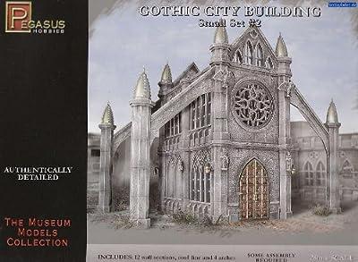Pegasus Hobby Gothic City Building Small Set 2 from Pegasus Hobby