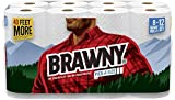 Brawny Paper Towels, Pick-A-Size, Giant Roll, White - by Brawny