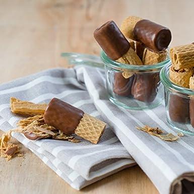 Bahlsen Waffeletten Obleas De Chocolate Con Leche 100g (Paquete de 6): Amazon.es: Alimentación y bebidas