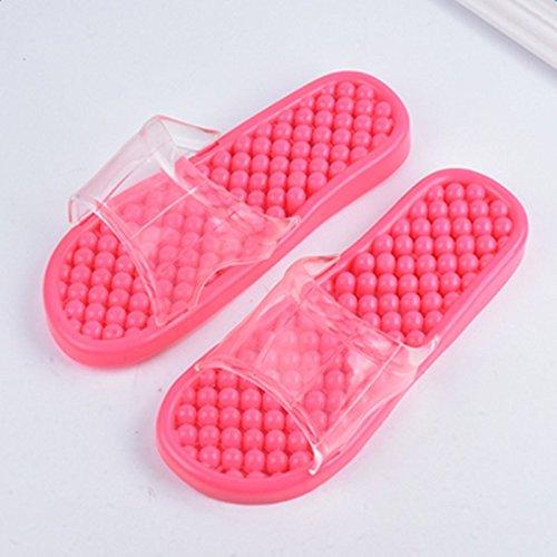 Clkjdz Anti-slip Massage Slippers Household Bathroom Couple Sandal for Home Shower Summer Indoor