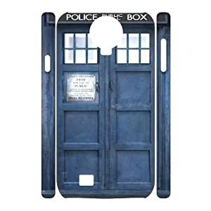Fggcc Doctor Who Tardis Case for 3D SamSung Galaxy S4 I9500,Doctor Who Tardis S4 Cell Phone Case (pattern 7)