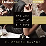 The Last Night at the Ritz | Elizabeth Savage