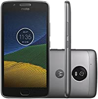 "Smartphone Motorola Moto G5s Platinum 5.2"" 4G Android 7.1 Octa-Core 1.4GHz"