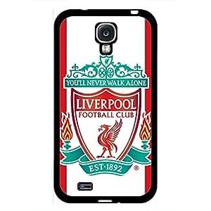 Samsung Galaxy S4 Case,Livepool Football Club Logo Protective Phone Case Black Hard Plastic Case Cover For Samsung Galaxy S4