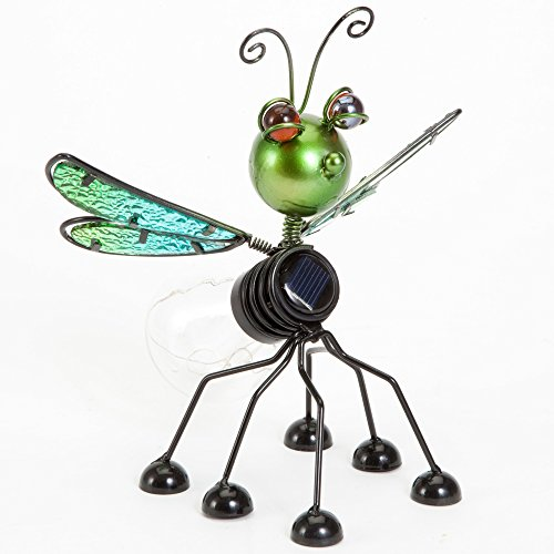 Bits and Pieces - Freddie the Firefly Solar Bulb Light - Wonderful Outdoor Décor