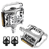 VENZO Multi-Use Shimano SPD Compatible Mountain Bike Pedals