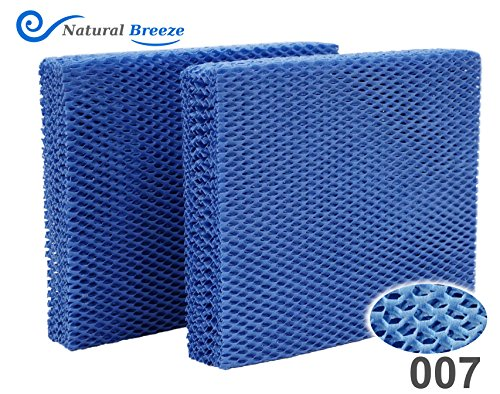 Natural-Breeze Compatible Replacement for Vornado Brand MD1-0001 Humidifier Filter MD1-0002, MD1-1002 Reusable by Natural-Breeze