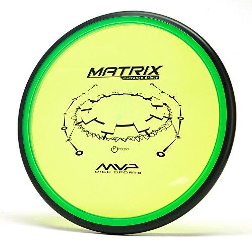 MVP Disc Sports Proton Matrix Disc Golf Midrange Driver (165-170g/Colors May Vary)
