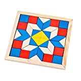 Winkey Toy for 1 2 3 4 5 Years Old Kids Girls Boys, Kids Geometry Diamond Brain Teaser Wooden Educational Toy Fancy Jigsaw Puzzles