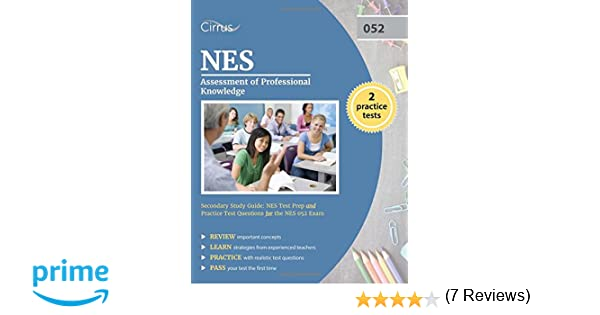 nes assessment of professional knowledge secondary study guide nes rh amazon com NES Orela NES Essential Academic Skills