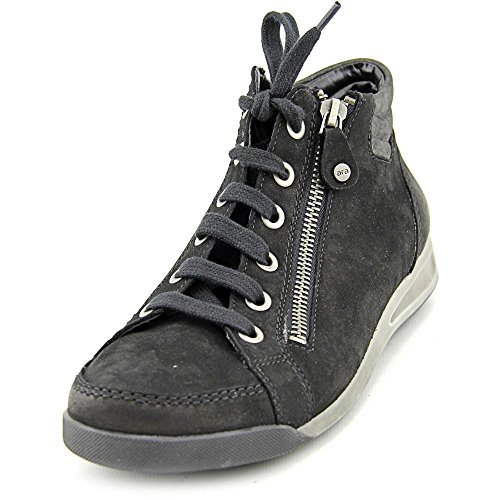 Ara Womens 12-44410 ROM-STF Black Leather Shoes 8.5 US