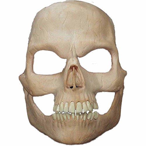 Prosthetic Skull Full Face (Skull Prosthetic Mask)