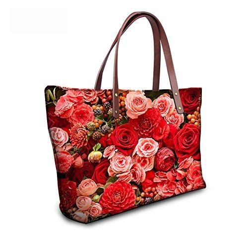 C8wc0766al Top Print Tote Handbags Animals FancyPrint Bages Women Handle Satchel Xxazng