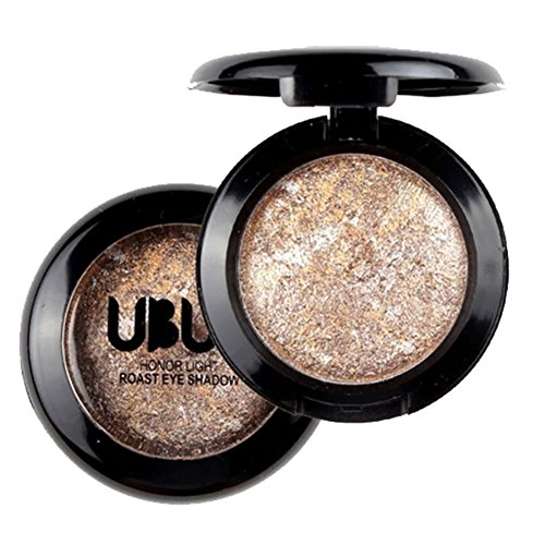 ed Eye Shadow Powder Palette Shimmer Metallic Eyeshadow Palette (05) ()