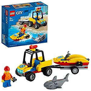 LEGO Beach Rescue ATV Building...