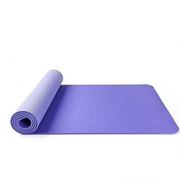 Yany Colchoneta de Yoga Antideslizante respetuosa con el ...