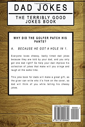 Dad Jokes: The Terribly Good Dad jokes book| Father's Day - Import It All