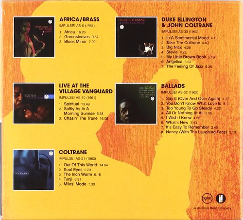 The Impulse! Albums: Volume One [5 CD]