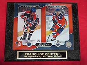 Oilers WAYNE GRETZKY CONNOR McDAVID Engraved Collector Plaque w/8x10 Photo LEGACY SERIES