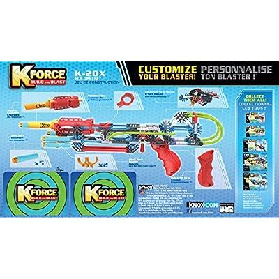 K'NEX K-FORCE K-20X Building Set (165 Piece) ( Exclusive): Toys & Games