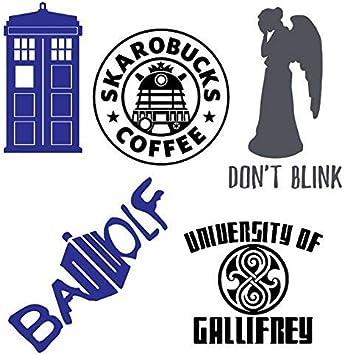 Supersticki Doctor Who Bonus Pack Includes 5 Pack Decals Decal Sticker Car Home Laptop Dye Cut By Boston Deals Ca 20cm Aufkleber Autoaufkleber Wandtattoo Auto