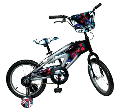 Spiderman Bicycle (Multi, 16-Inch) by Spiderman