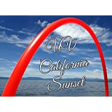 "28"" 3/4 UV Colored PolyPro California Sunset Practice Hula Hoop"