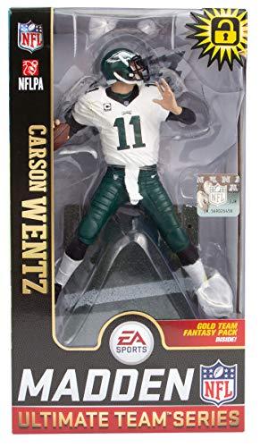 Carson Wentz (Philadelphia Eagles) EA Sports Madden NFL 19 Ultimate Team Series 1 McFarlane CHASE
