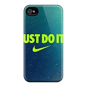 diy zhengAwesome Case Cover/ Ipod Touch 4 4th Defender Case Cover(just Do It)