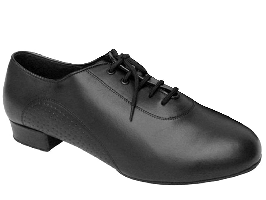 Split Sole with Standard 1 Heel 10.5, Black Leather Black Patent or Black Leather Very Fine Shoes Mens Standard /& Smooth Signature Series S309