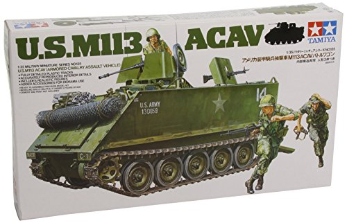 Tamiya 300035135–1: 35US M113ACAV Assault (3) for sale  Delivered anywhere in USA