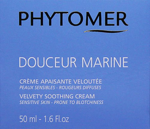 Velvety Soothing Skin Cream (Phytomer Douceur Marine Velvety Soothing Cream 50ml Treatment Beauty Skin)