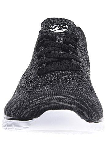 Mooi - Sneaker für Damen Winter Melange Grey Black (9) Lakeville Mountain lXPrZa4